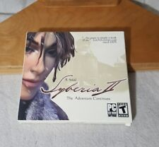 Syberia II - The Adventures Continues PC 2004 New Sealed