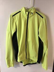 Bontrager Starvos Softshell Jacket Hi Vis medium long sleeve