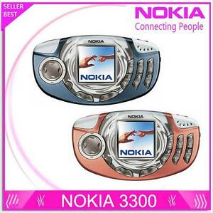 Original Nokia 3300 Mobile Game Phone Multilingual Good Quality GSM 900/1800