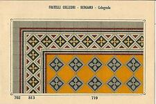 Stampa antica PAVIMENTO A MOSAICO Piastrelle Mattonelle C 719 1910 Antique print