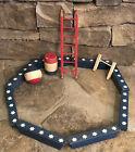 Antique Schoenhut Humpty Dumpty Circus Wooden Toys 15 Piece Set