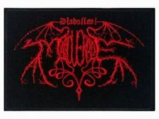 DIABOLICAL MASQUERADE - Red Logo - Embroidered Patch * Gestickter Aufnäher