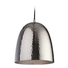 Firstlight Assam Pendant in Nickel with Matt Nickel inside - Ceiling Light
