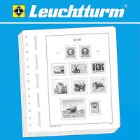 LEUCHTTURM SF-Vordruckblätter Estland 1918-2019 Varianten Auswahl