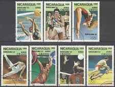 Timbres Sports JO Nicaragua PA1300/6 o lot 12083