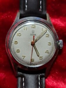 1954 Mens Vintage ROLEX TUDOR 17Jewel Mechanical Hand Wind Military Style Watch