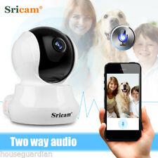 Sricam Wireless WiFi 720P HD Pan Tilt IP Camera Pet Dog Smart Camera for Home UK