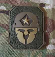 MODERN SPARTAN PVC MULTICAM TACTICAL ARMY MORALE PATCH W VELCRO® BRAND FASTENER