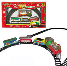 Christmas -  Express Train Set & Track - Battery Operated - 9 Piece - 3 Yrs+