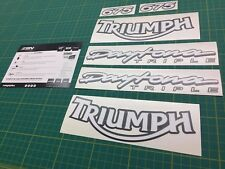 Triumph Daytona Triple graphics set decals stickers 675 TT 600