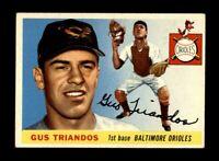 1955 Topps Baseball #64 Gus Triandos (Orioles) EX