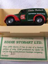 Eddie Stobart Lledo Lp58 Morris Z Van Limited Edition