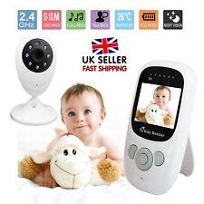 "2.4"" LCD 2.4GHZ Wirless Digital Video Baby Monitor Audio Camera HD Night Vision"
