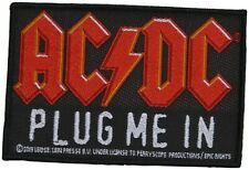 AC/DC - Plug Me In - 10,4 cm x 7 cm - Patch - 166119
