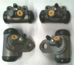 4 Wheel cylinders Chevrolet Cars 1955 1956 1957 Brand New