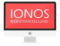 Website Erstellung - Firmen Homepage mit IONOS 1und1 inkl 3x Unterseiten + LOGO
