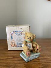 "Cherished Teddies ""Age 6"" Figurine ""Chalking Up Six Wishes"""