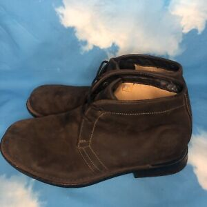 Timberland Chukka Boots Mens Size 11 M Brown Suede Shoes 86573 4378 Lace Up