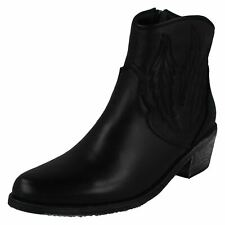 Ladies Leather Collection Cowboy Boots