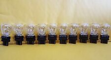 GE 3057 12V,27W,E40 clear glass automotive lamps,lot of 10,new !!!