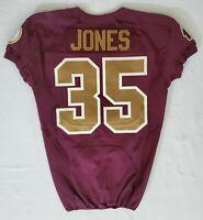 #35 David Jones of Washington Redskins NFL Game Issued Alternate Jersey