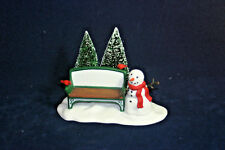 Our Own Village Park Bench #2211 The Heritage Collection Department 56 w/box