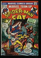 Marvel Team-Up #8, FN 6.0, Spider-Man and The Cat (later Tigra)