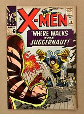 New listing X-Men # 13 2nd Appearance of the Juggernaut Glossy Gorgeous Lee & Kirby 1 Owner