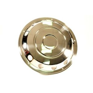"""1 x pair 22.5""""  Front Swedish Style Wheel Trims Stainless steel"""