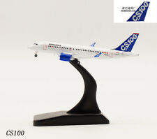 1:400 JC WINGS Bombardier CS100 Passenger Airplane Plane Diecast Aircraft Model
