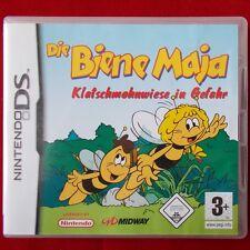 Nintendo DS ► Biene Maja: Klatschmohnwiese in Gefahr ◄ Lite|DSi XL|3DS | TOP