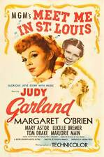 MEET ME IN ST. LOUIS Movie POSTER 27x40 B Judy Garland Margaret O'Brien Mary