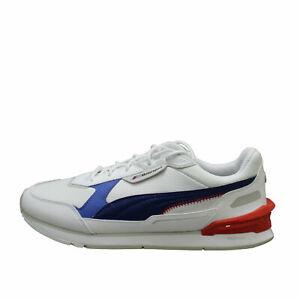 Puma Bmw Motorsport Low Racer Puma White / Blue Men's Sneakers 30693902