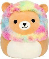 "Squishmallow Official Kellytoy Plush 8"" Rainbow Mane Lion - Ultrasoft Stuffed"