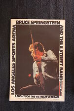 Bruce Springsteen 1981 Tour Poster Los Angeles Sports Arena