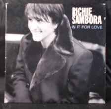 Richie Sambora - In It For Love - CD Single - Australia
