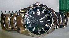 fossil men's diamond accent face mens watch am-4089 661108