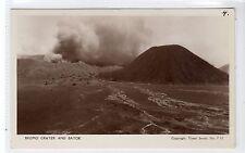 BROMO CRATER AND BATOK, BALI: Indonesia postcard (C27329)