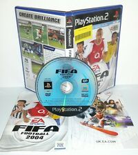 FIFA FOOTBALL 2004 04 4 - Playstation 2 Ps2 Play Station Gioco Game