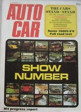Autocar 21/10/1971 featuring Rover P6 road test, VW Camper, Triumph, Motor Show