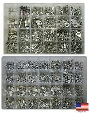 2600 Master Non Insulated Bare Crimp Wire Terminal Connector Assortment Kit