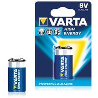 6LR61 High-Energy-Batterie 9V E-Block MN1604 4922 9 Volt 1er-Blister Varta
