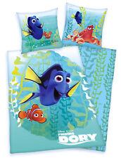 Findet Dorie Finding Nemo Bettwäsche 80x80 135x200 bügelfrei RV Neu Herding