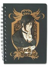*NEW* Black Butler: Sebastian Notebook by GE Animation
