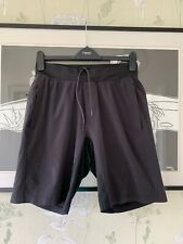 Mens Black 2-in-1 Activewear/Fitness/Running Shorts From  LULULEMON - Size M