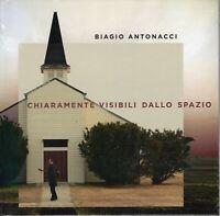 BIAGIO ANTONACCI - Chiaramente visibili dallo spazio. Deluxe hardbook (2019) CD
