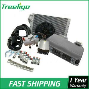 Universal Under Dash Evaporator 12V Electric Ac Compressor Conditioner System