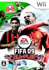 FIFA 09 All-Play (Nintendo Wii, 2008) - Japanese Version