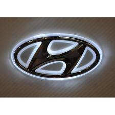 LED Car Tail Logo Auto Badge Emblems White light for Hyundai I30 Sonata Elantra