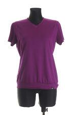 SALOMON Women's short sleeved V-Neck Top T-shirt Size Medium